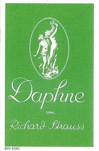 9783795778859: Daphne: Bukolische Tragödie in einem Aufzug von Joseph Gregor. op. 82. Textbuch/Libretto.
