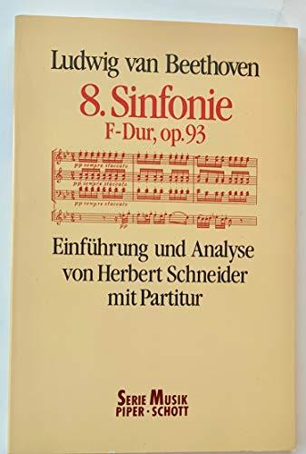 9783795781224: Sinfonie 8 F-dur Op 93