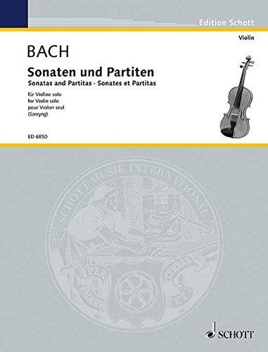 9783795795047: Sonaten und Partiten: Fur Violine Solo / For Violin Solo / Pour Violon Seul