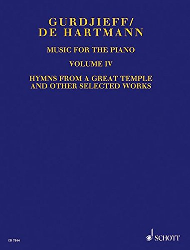 Music for the Piano: Gurgjieff, Georges Ivanovich