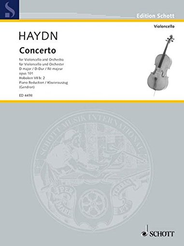 9783795795405: Concerto in D Major, Op. 101 (Hob. 7b:2): Cello and Piano