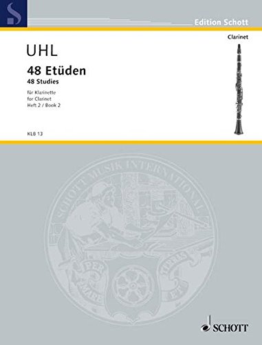 48 Studies for Clarinet: Volume 2: Alfred Uhl (Composer)