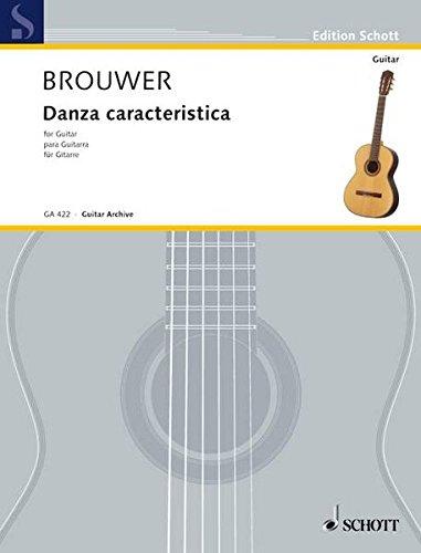 9783795795894: Danza Caracteristica/ Para el Quitate de la Acera: For Guitar/Para Guitarra