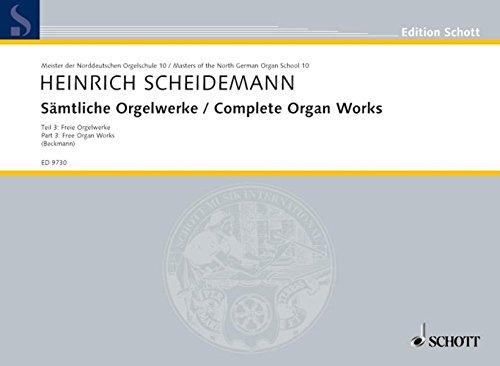 COMPLETE ORGAN WORKS BAND 3 (Paperback)