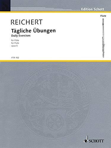 9783795797959: Daily Studies Op5 Tagliche Ubungen For Flute