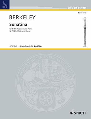Sonatina Op 13: Berkeley, Lennox