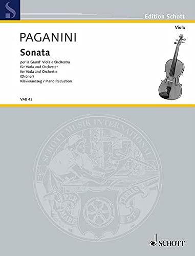 Sonata: per la Grand'Viola e Orchestra. Viola: Ulrich Drüner