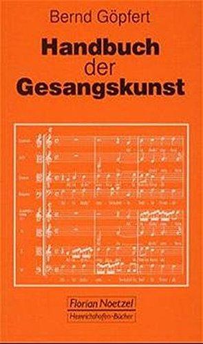 9783795905095: Handbuch der Gesangskunst (Taschenbucher zur Musikwissenschaft) (German Edition)
