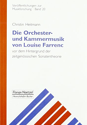 Die Orchester-und Kammermusik von Louise Farrenc vor
