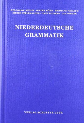 9783796303326: Niederdeutsche Grammatik (Schriften des Instituts für Niederdeutsche Sprache) (German Edition)