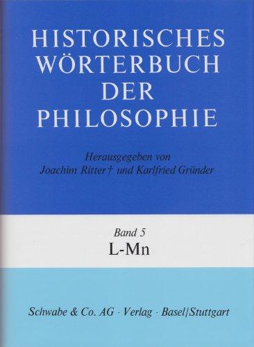 Historisches Wörterbuch der Philosophie Gesamtwerk Bd. 1-13: Joachim Ritter