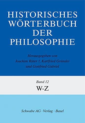 9783796507038: Historisches Worterbuch Der Philosophie Gesamtwerk (German Edition)