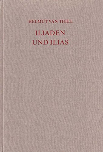 9783796507748: Iliaden und Ilias (German Edition)