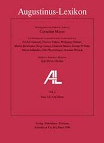 9783796509643: Augustinus-Lexikon vol. 1 (Aaron - Conuersio): Einleitung und Fasc. 1-8 in einem Band