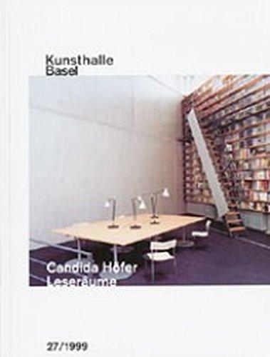 9783796514012: Candida Höfer: Leseräume (Kunsthalle Basel) (German Edition)