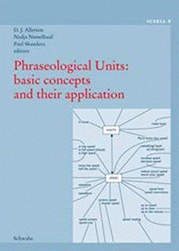 9783796519499: Phraseological Units