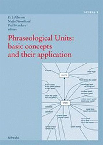 9783796519499: Phraseological Units: basic concepts and their application