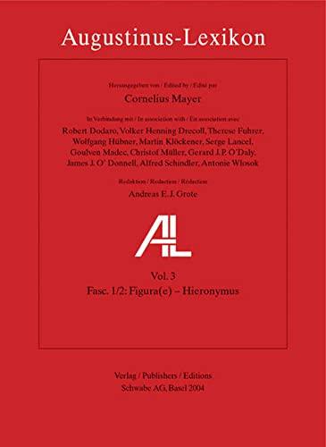 Augustinus Lexikon 3 Fasc 1/2: Cornelius Mayer
