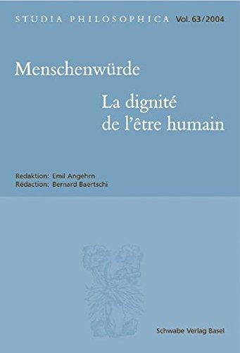 Menschenwürde - La dignité de l'être humain