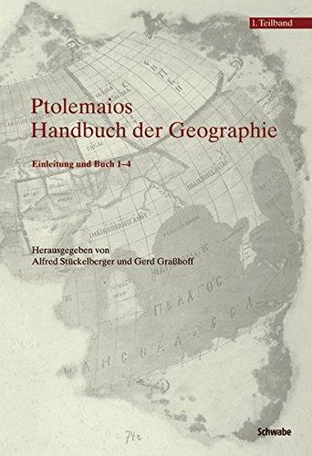 9783796521485: Klaudios Ptolemaios. Handbuch Der Geographie: Einleitung Und Buch 1-4 2 / Buch 5-8 Und Indices (German Edition)