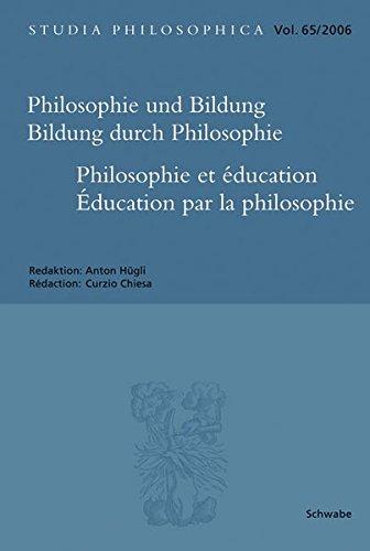 Philosophie und Bildung. Bildung durch Philosophie: Anton H�gli