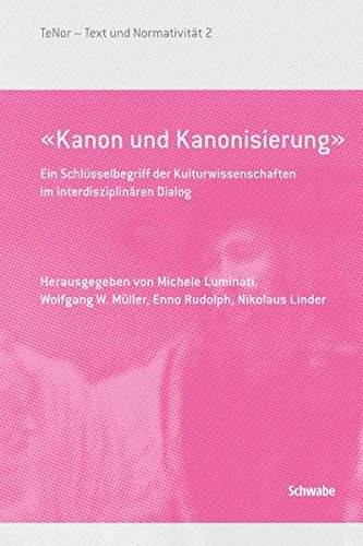 Kanon und Kanonisierung»: Michele Luminati