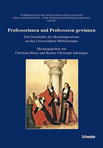 Professorinnen und Professoren gewinnen: Christian Hesse