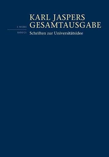 9783796534232: Schriften zur Universitätsidee