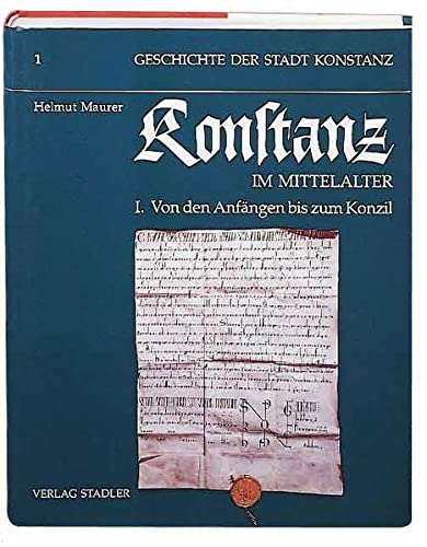 9783797703620: Geschichte der Stadt Konstanz / Konstanz im Mittelalter