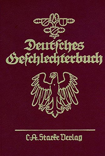 Dt. Geschlechterbuch Bd. 179/15. Niedersächsisches Geschlechterbuch. Genealogisches ...