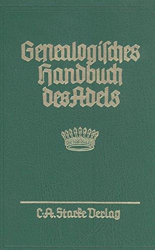 Genealogisches Handbuch des Adels