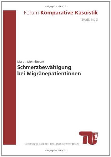 9783798321403: Schmerzbewältigung bei Migränepatientinnen