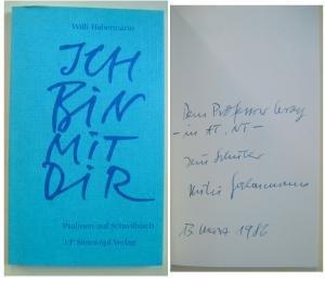 9783798406223: Ich bin mit dir: Psalmen auf Schwäbisch (Livre en allemand)