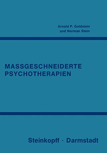 Massgeschneiderte Psychotherapien: N. Stein