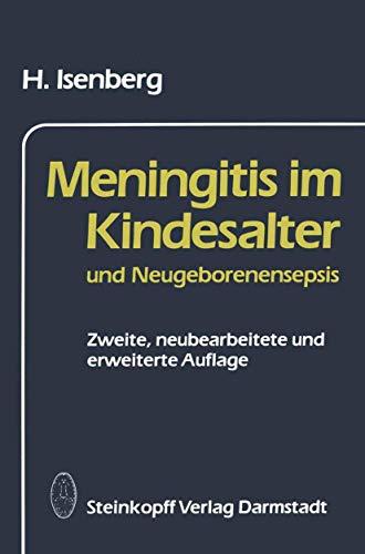 Meningitis Im Kindesalter Und Neugeborenensepsis - H Isenberg