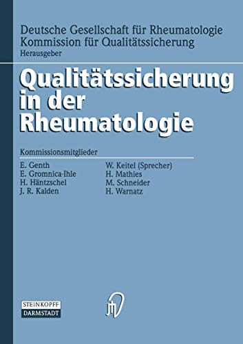 9783798510111: Diagnostik (Qualitätssicherung in der Rheumatologie) (German Edition)