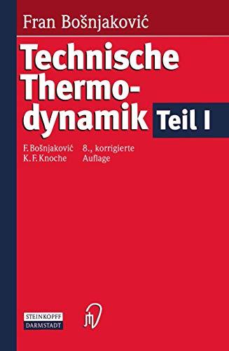 9783798511149: Technische Thermodynamik Teil I