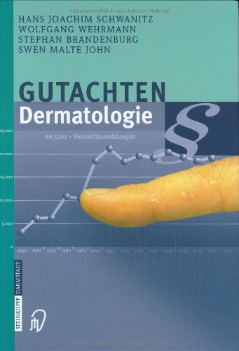 9783798512306: Gutachten Dermatologie (German Edition)