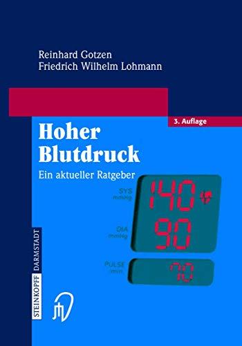 9783798514805: Hoher Blutdruck: Ein aktueller Ratgeber (German Edition)