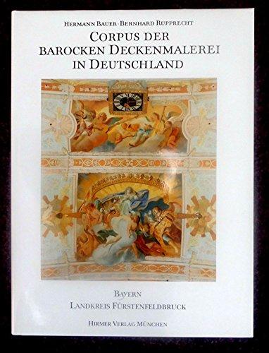9783799157377: Corpus der barocken Deckenmalerei in Deutschland (German Edition)