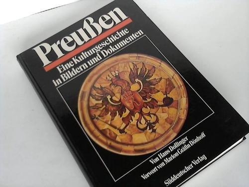 9783799160834: Preussen: Eine Kulturgeschichte in Bildern und Dokumenten