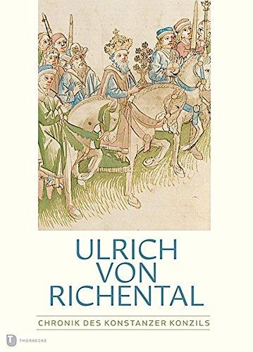 9783799503853: Ulrich von Richental, Chronik des Konstanzer Konzils