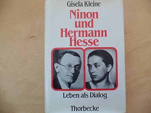 9783799520164: Ninon und Hermann Hesse: Leben als Dialog
