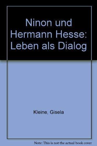 9783799520195: Ninon und Hermann Hesse. Leben als Dialog