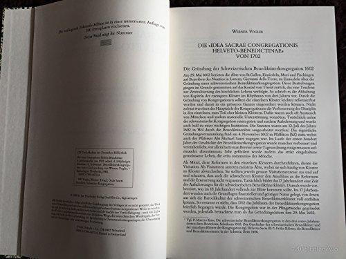 Idea sacrae Congregationis Helveto-Benedictinae - Die Jubiläumsschrift: Müller, Moritz und