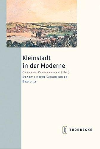 9783799564311: Kleinstadt in der Moderne.