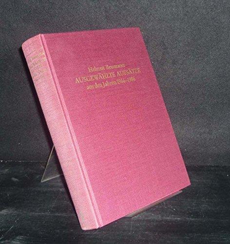 9783799570565: Ausgewählte Aufsätze aus den Jahren 1966-1986: Festgabe zu seinem 75. Geburtstag ; herausgegeben von Jürgen Petersohn und Roderich Schmidt