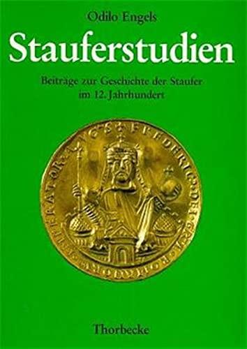 9783799570602: Stauferstudien: Beitr�ge zur Geschichte der Staufer im 12. Jahrhundert