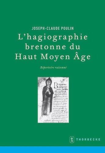 9783799572972: L'Hagiographie Bretonne Du Haut Moyen Age: Repertoire Raisonne (Beihefte Der Francia) (French Edition)