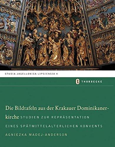 9783799584043: Reprasentation in Einer Bettelordenskirche: Die Spatmittelalterlichen Bildtafeln Der Dominikaner in Krakau (German Edition)